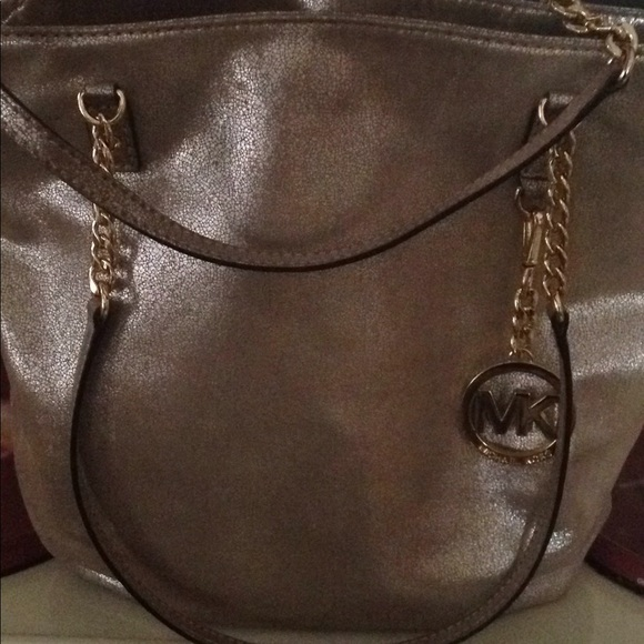 6b8e40e7c345 Michael Kors Bags   Trade For Paul Metallic Handbag   Poshmark
